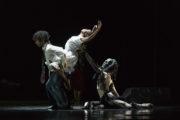 Ghost Dances (Bruce, 1981): Miguel Altunaga, Carolyn Bolton, Juan Gil. Photo © Jane Hobson.
