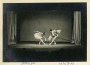 Aurora's Wedding (Petipa, 1928): Maude Lloyd and Hugh Laing in the Grand Pas de Deux, at the Mercury Theatre. Photographer unknown. RDC/PD/01/0019/01