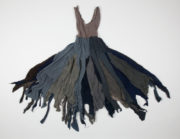Black Angels (Bruce, 1976): costume in the Rambert Archive. Photo: Janie Lightfoot Textiles. RDC/PD/05/01/0267
