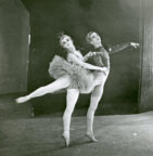 Bluebird pas de deux from 'Aurora's Wedding': Belinda Wright and John Gilpin during the Australia tour, c.1948. Photo © Jean Stewart.