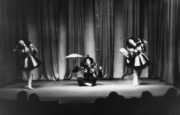Chinese Dance from 'The Nutcracker' (Ivanov, 1892): performance in the Mercury Theatre in the 1930s mostly as part of 'Aurora's Wedding'. Photographer unknown. RDC/PD/01/0019/01