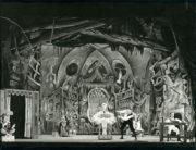 Coppélia (Ivanov/Saint-Léon, 1894/1957): Patricia Dyer as Swanilda (centre) in Act II. Photo © John Chesworth. RDC/PD/01/169/1