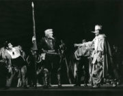 Don Quixote (Gorsky/Zakharov, 1940/1962): John O'Brien as Don Quixote (centre) and John Chesworth in Act II. Photo © J.D. O'Callaghan. RDC/PD/01/181/2