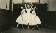 The Fairy Queen (dances in the opera) (Ashton/Rambert, 1927): Maude Lloyd, Pearl Argyle, Violet Reynolds. Photographer unknown. RDC/PD/01/12/01