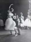 Giselle (Coralli/Perrot/Petipa, 1841/1946): Sally Gilmour, Walter Gore in Act II, Melbourne, 1947. Photo © Jean Stewart. RDC/PD/01/134/1