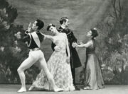 Jardin aux Lilas (Tudor, 1936): Hugh Laing, Maude Lloyd, Antony Tudor, Peggy van Praggh. Photo © Malcolm Dunbar.