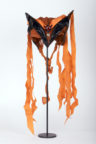 Les Zing-Zags (Gore, 1949): headdress in the Rambert Archive. Photo: Janie Lightfoot Textiles. RDC/PD/05/01/0144
