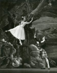 La Sylphide: June Sandbrook and Kenneth Bannerman in Act II. Photo © John Blomfield. RDC/PD/01/177/2