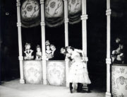 The Life and Death of Lola Montez (1818-1861) (Carter, 1954): Anne Lascelles as Lola Mortez (centre). Photo © R. Wilsher. RDC/PD/01/159/1