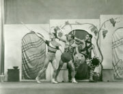 Lysistrata (Tudor, 1932): William Chappell, Walter Gore, Antony Tudor. Photographer unknown. RDC/PD/01/58/01