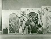 Lysistrata (Tudor, 1932): William Chappell, Walter Gore, Antony Tudor. Photographer unknown. RDC/PD/01/58/01