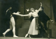 Mephisto Valse (Ashton, 1934): Walter Gore, Alicia Markova, Frederick Ashton. Photo © Pollard Crowther. RDC/PD/01/72/1