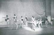 Prismatic Variations (Paltenghi, 1950): Cecil Bates, Shirley Rees (centre). Photographer unknown. RDC/PD/01/149/1