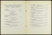 Programme for the ISTD's Annual Dance Festival listing 'Pas de Deux' (Ashton, 1927). RDC/MA/04/01/0002