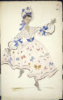 The Sailor's Return (Howard, 1947): Andrée Howard's costume design for Tulip, the princess