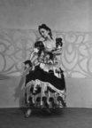 Spanish Divertissement (Brunelleschi, 1947): Sara Luzita at the Princess Theatre, Melbourne, December 1947. Photo © Jean Stewart.