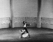 Spanish Divertissement (Brunelleschi, 1947): Sara Luzita and Frank Staff at the Princess Theatre, Melbourne, December 1947. Photo © Jean Stewart.