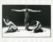 Theme and Variations (Jones, 1972): Lucy Burge, Christopher Bruce, Sandra Craig. Photo © Roger Perry. RDC/PD/01/232/1