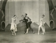 A Tragedy of Fashion (Ashton, 1926): Elizabeth Vincent, Marie Rambert, Frederick Ashton, Frances James. Photo © Bertram Park.