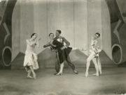 A Tragedy of Fashion (Ashton, 1926): Elizabeth Vincent, Marie Rambert, Frederick Ashton, Frances James. Photo © Bertram Park.