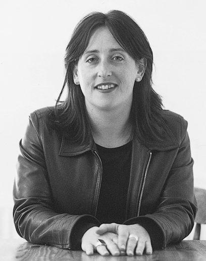 black-and-white portrait of Aletta Collins