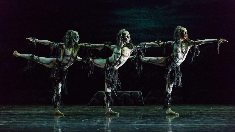 ghost dances christopher bruce music
